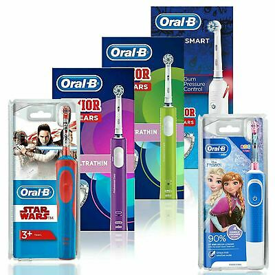 View Details Oral-B Junior Kids Electric Toothbrush Rechargeable For Children Aged 6+  • 31.99£