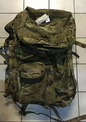 British Army Issue MTP 90L Long Back Bergen/Rucksack With Internal Frame MLB1 • 74.95£
