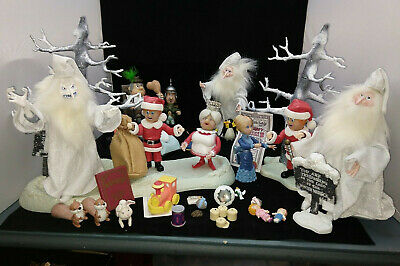 $289 • Buy Huge Lot Of Santa Claus Is Coming To Town Trees Figures Accessories RANKIN BASS