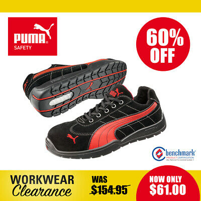 AU61 • Buy Puma Safety Work Boots With Toe Cap 642637 Silverstone NEW