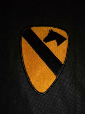 £8.95 • Buy Genuine Issue US Army 1st Air Cavalry Division Uniform Badge