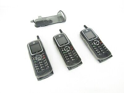 $ CDN152.31 • Buy Lot Of 3 Motorola I365 Rugged Phones And 1 Belt Clip - Not Tested