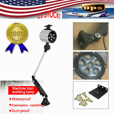 $24.30 • Buy 6W LED  Work Lights CNC Industrial Work Lamp For Milling Router Lathe Sewing NEW