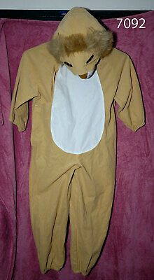 £9.99 • Buy New Without Tags Child's Lion Dress-Up By Ladybird - Age 4-7 Yrs