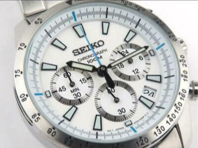 $347 • Buy Seiko Chronograph Date Cal.6T63 Small Second Quartz Mens Watch Auth Works
