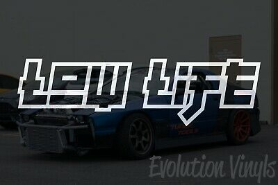 $1.99 • Buy Low Life V2 Decal Sticker - JDM Lowered Static Stance Low Drift Slammed Racing