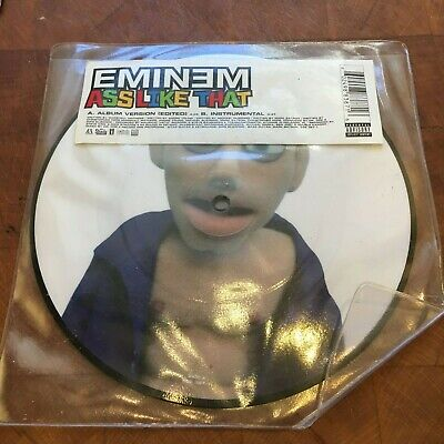 Eminem 'ass Like That' 2004 Limited Edition Picture Disc 7'' Vinyl Shady Records • 2£