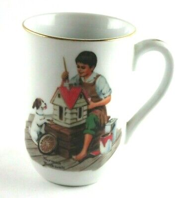 $ CDN16.55 • Buy Norman Rockwell Museum Cup Mug A Dollhouse For Sis