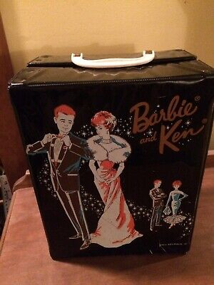 $ CDN39.95 • Buy Vintage 1960's Barbie And Ken Carrying Storage Case For Dolls And Accessories