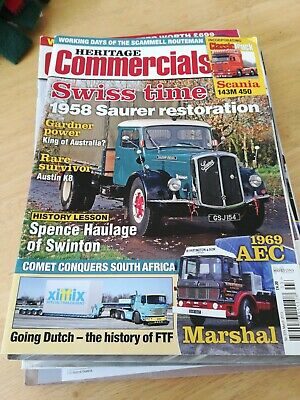 £2 • Buy Heritage Commercials Magazine March 2013 MBox724 Swiss Time