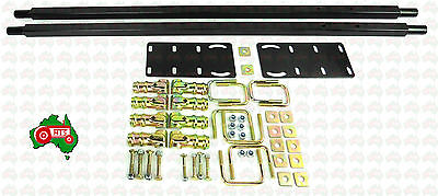 AU99.50 • Buy Tractor Small Canopy Hoop Type Curved Square Top ROPS Mounting Kit Overwidth