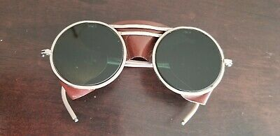 $225 • Buy Vintage Mint 1930s Willson Sunglasses Safety Glasses Goggles Usa