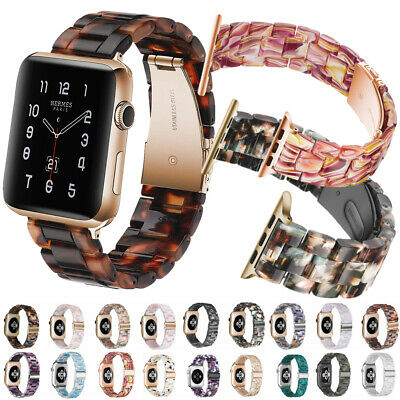 $ CDN19.83 • Buy Fashion Resin Watch Band Strap Bracelets For Apple Watch Series 1 2 3 4 5 New
