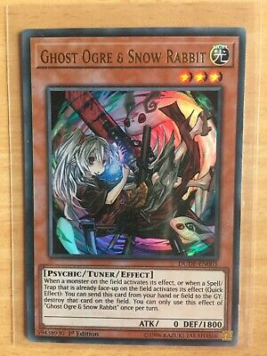 AU9.99 • Buy Yugioh - Ghost Ogre & Snow Rabbit - DUDE-EN001 - Ultra Rare - 1st Edition - Mint