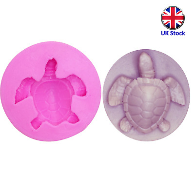 £3.99 • Buy 3D Turtle Silicone Cake Topper Mould - Ideal For Chocolate, Fondant, Etc.
