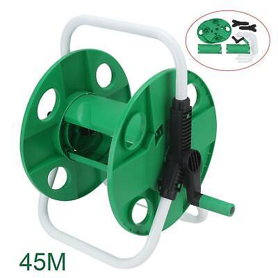 Portable Wall Mounted Water Hose Reel Free Standing Garden Pipe Holder Anti-Rust • 11.99£