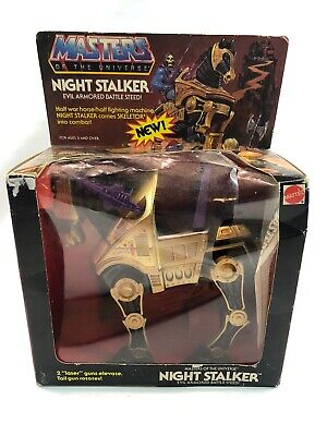 $99.99 • Buy NIB Vintage HeMan He Man Mattel MOTU Night Stalker Evil Armored Battle Steed