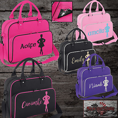 $21.86 • Buy Girls Custom Irish Dancing Shoulder Bag Free Printing Dancer Dance Accessories