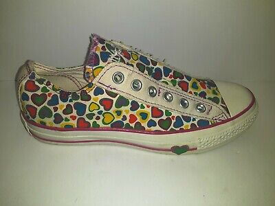 £35.32 • Buy Converse All Star  Heart Crazy  Lace-less Slip On Shoes - Womens Size 5 **RARE**