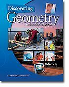 $5.32 • Buy Discovering Geometry : More Projects And Explorations By Michael Serra