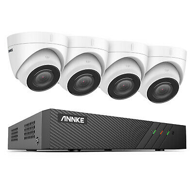 AU404.99 • Buy ANNKE 8CH 6MP H.265+ NVR POE Outdoor 5MP HD Home Security CCTV Camera System IR