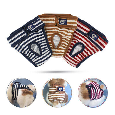 Female Male Pet Dog Physiological Pants Sanitary Nappy Diaper Shorts Underwear • 3.59£