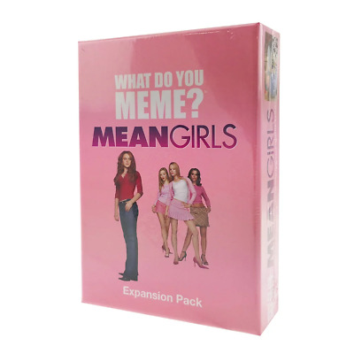 AU25.95 • Buy What Do You Meme Mean Girls Expansion Pack Card Game NEW