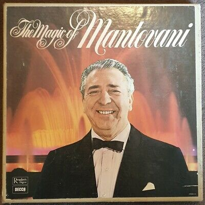 The Magic Of Mantovani From Reader's Digest/Decca (GMAN-6A) • 5£