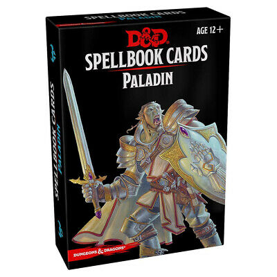 AU22.95 • Buy Dungeons & Dragons Spellbook Cards Paladin NEW