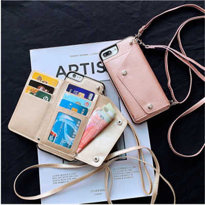 AU11.60 • Buy Crossbody With Long Rope Card Wallet Bag Holder Flip Leather Phone Case Cover