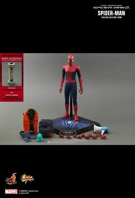 $349 • Buy Hot Toys 1/6 The Amazing Spiderman 2 MMS 244 Spider-Man Figure New