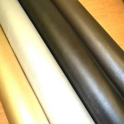9 Cols STRETCH Faux Leather Look Soft PVC Leathercloth Fabric Leatherette Vinyl • 1.99£