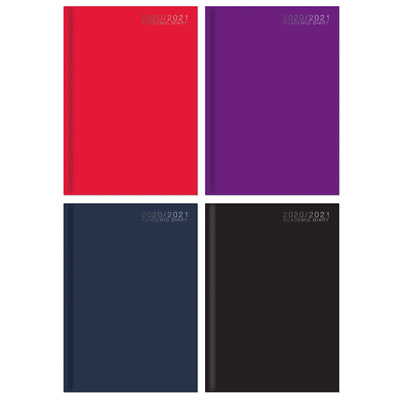 £2.99 • Buy 2020 -2021 A5 One Week To View Academic Student Diary Casebound Cover Planner
