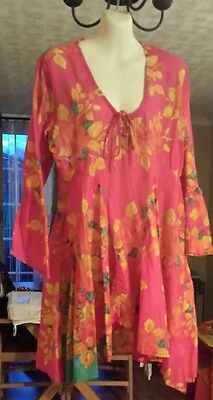 £12.99 • Buy Roman Originals Vintage Style Tunic, Cover Up, Kaftan, Holiday Uk Size 10 Small