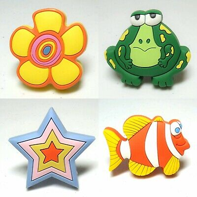 CHILDRENS RUBBER ANIMAL DRAWER KNOBS - Cupboards, Peg Units, Drawers, Doors Etc. • 1.95£
