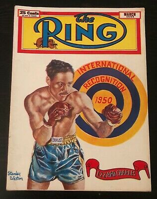 $19.99 • Buy The Ring Magazine (March, 1950) Ezzard Charles
