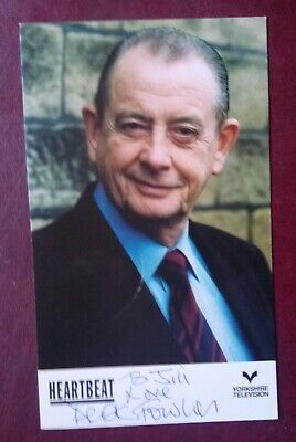 Heartbeat - Derek Fowlds Signed Promotional Card • 16.99£