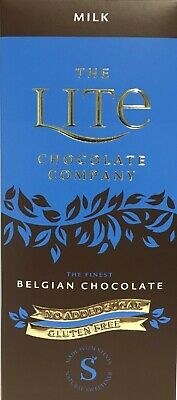 Lite Belgian Milk Orange Mint Chocolate No Added Sugar Gluten Free • 3.75£
