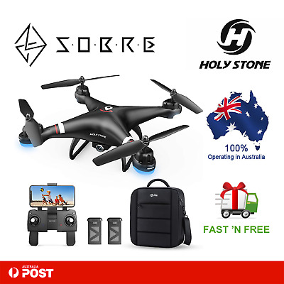 AU259.95 • Buy Holy Stone HS110G GPS FPV Drone 1080P HD Camera Live Video With Carrying Bag