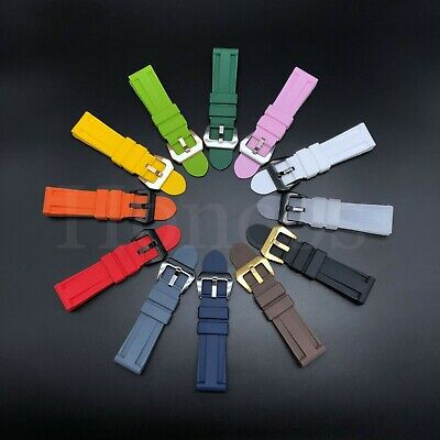 $ CDN15.70 • Buy 22 - 26 MM Soft Rubber Black Sport Diver Watch Band Strap Fits For Seiko SKX USA