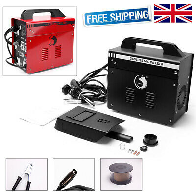 Gasless MIG Welder 130 Amp Portable Auto Flux Wire Feed Welding Machine 240V Kit • 106.99£