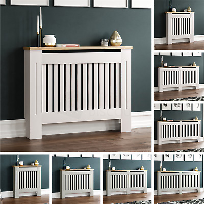 £32.95 • Buy Arlington Radiator Cover White Grey Modern Traditional Grill Cabinet Furniture