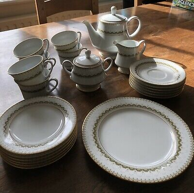 Noritake Katrina 2254 Tea Set Of 6- Perfect Condition • 68£
