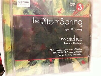 Stravinsky The Rite Of Spring Poulenc Les Biches Cd Bbc Wales National Orch/chor • 9.98£