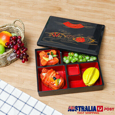 AU17.15 • Buy Japanese Lunch Bento Box Reusable Rice Sushi Catering Food Storage