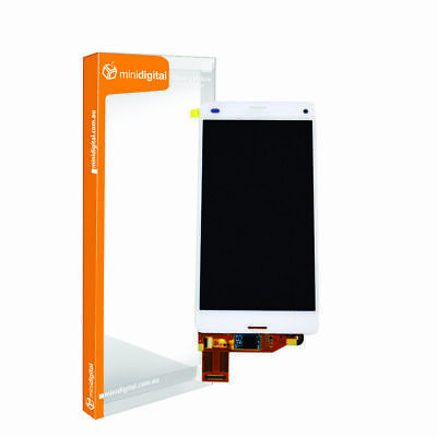 $ CDN67.75 • Buy For Sony Xperia Z3 Compact LCD/Digitizer White SPARE PART