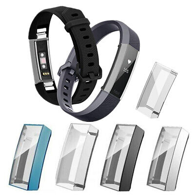 $ CDN11.03 • Buy 2PC For Fitbit Alta/HR/Ace Soft Silicone Full Cover Case Bumper Screen Protector