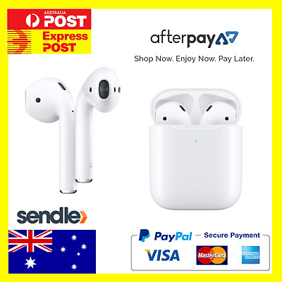 AU225 • Buy BRAND NEW & SEALED * Apple AirPods (2nd Gen) With Charging Case (MV7N2ZA/A)