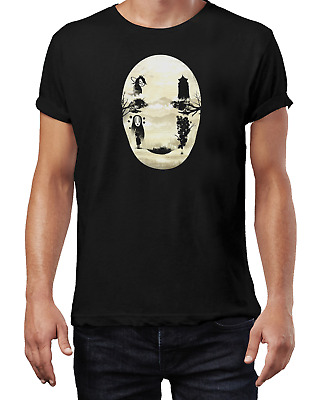Studio Ghibli Spirited No Face TV Show Gaming Geek T-Shirt Black Unisex • 8.99£
