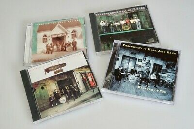 $ CDN19 • Buy Lot Of 4 Music CD's By The Preservation Hall Jazz Band 4-Disc